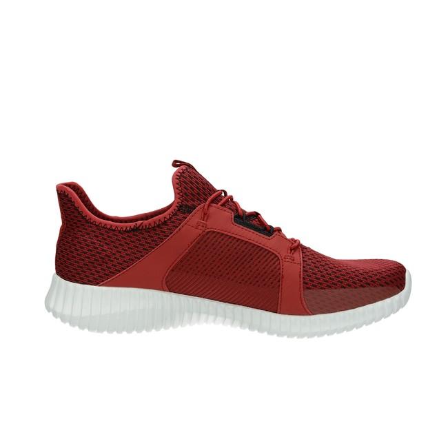 bd9422de752 Skechers pánské textilní tenisky - červené ...