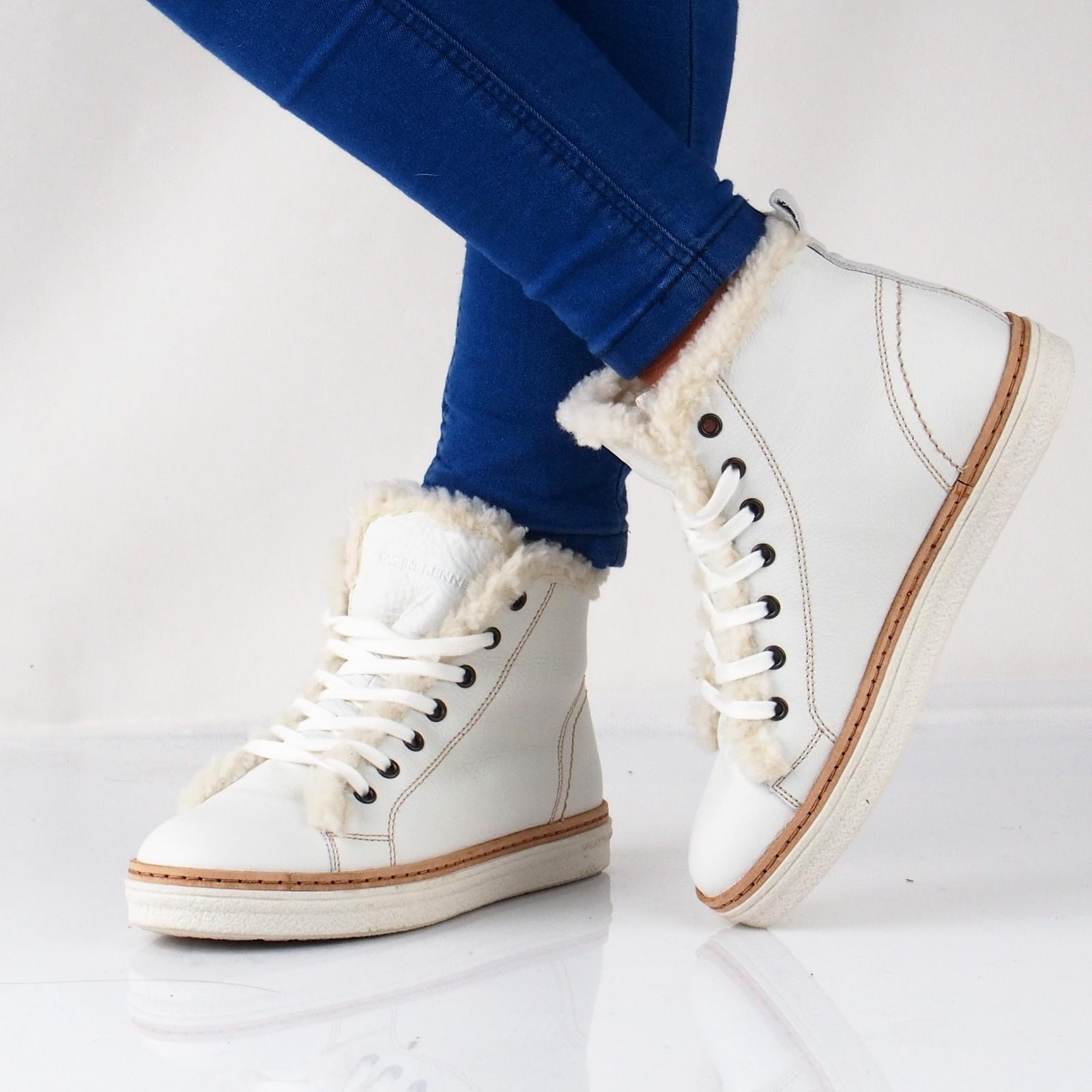 bd4d8d84fe Weinbrenner dámské kožené kotníkové boty - bílé ...