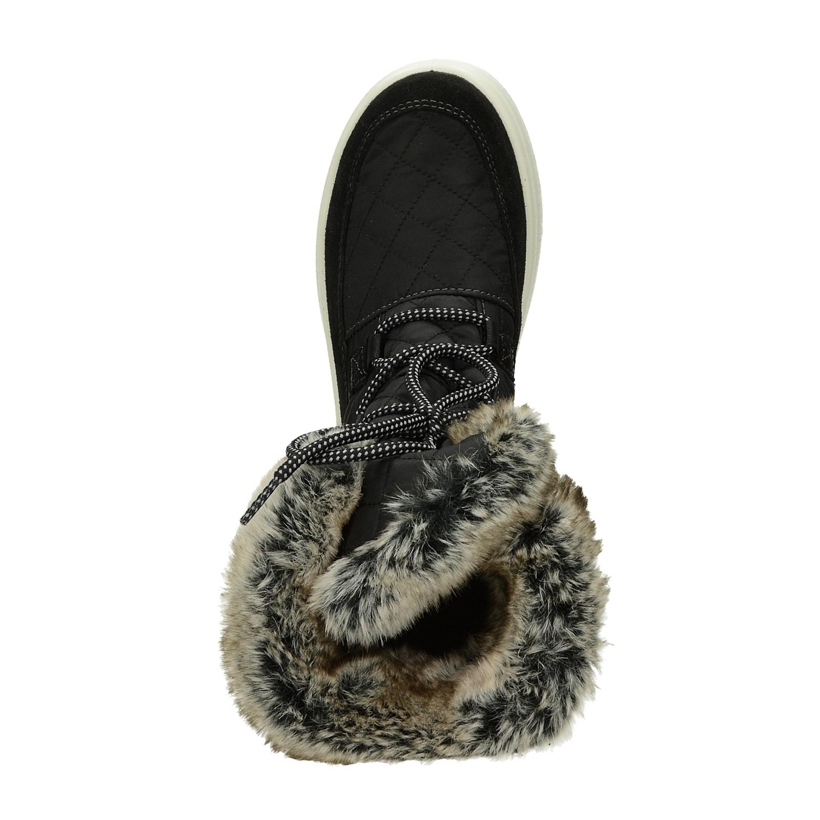 M&G dámské stylové kotníkové boty - černé