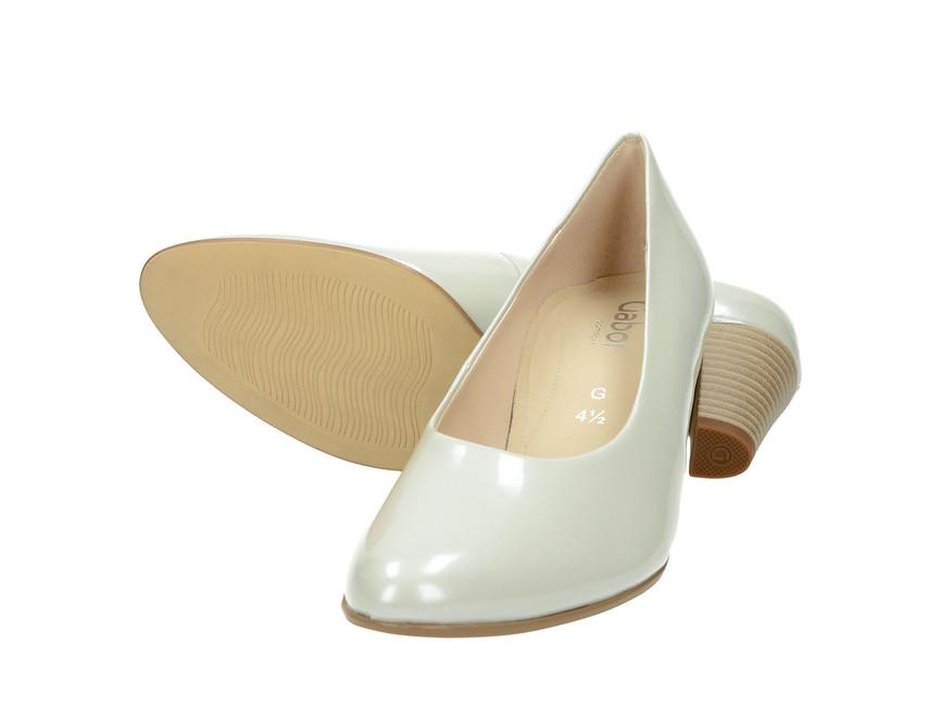 Gabor dámské lodičky - bílé ... b3c5f22797