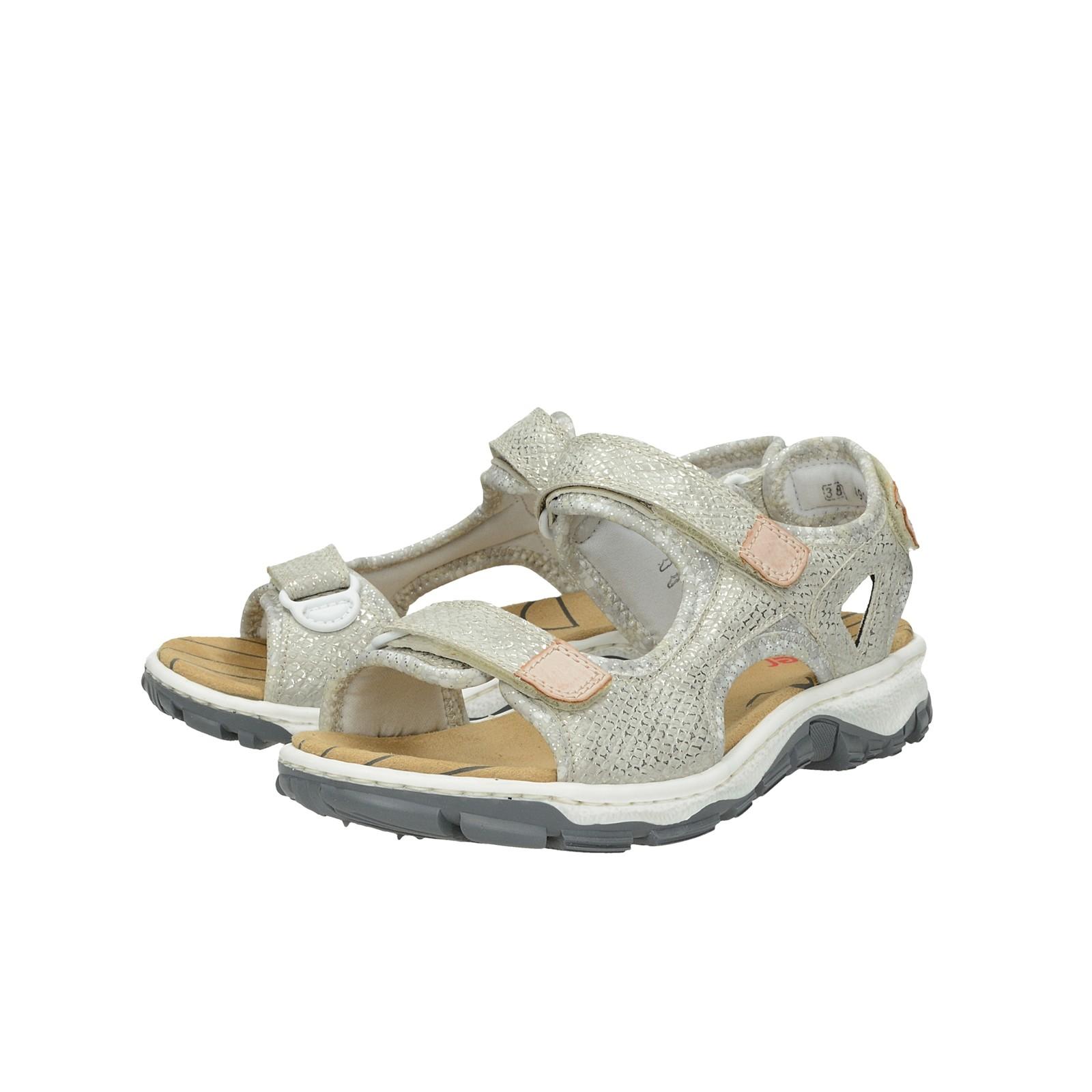 Damen Großhandelpreise Rieker Sneaker WHITE SILV L59B4 80