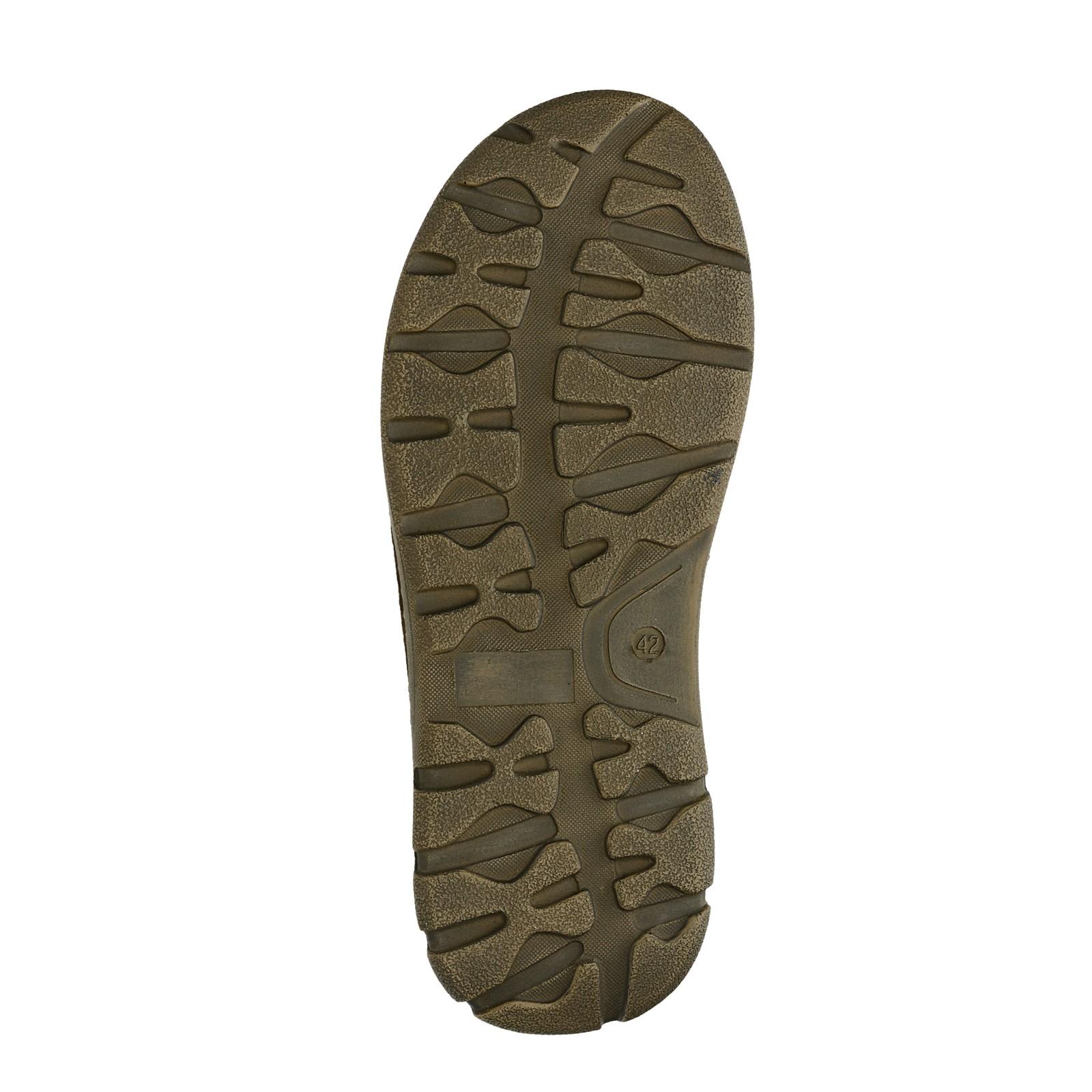 Klondike pánské kožené nazouváky - tmavohnědé