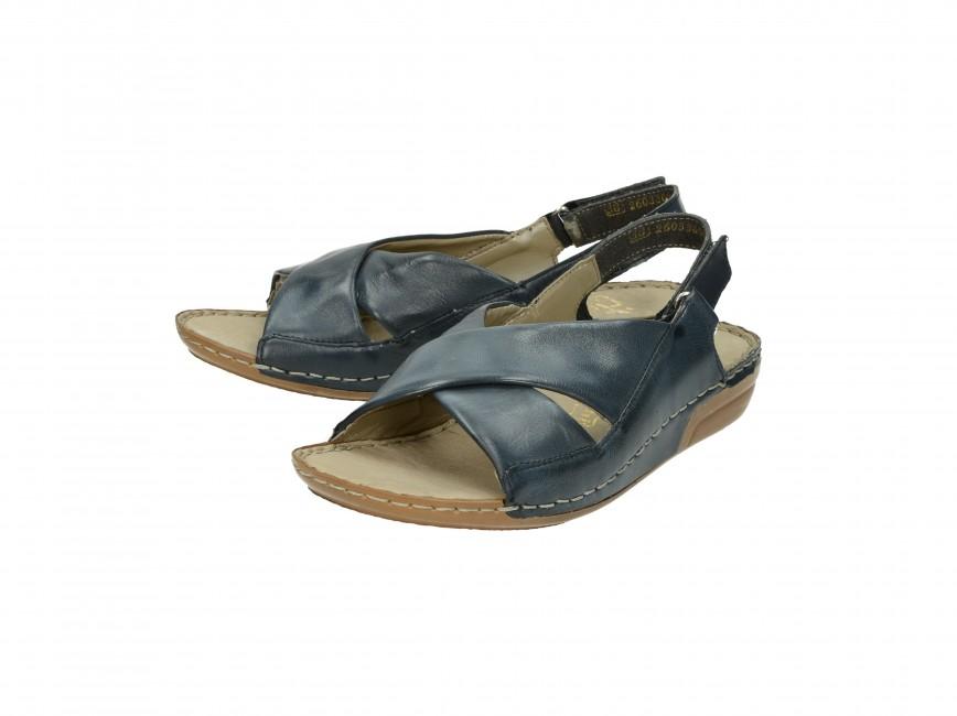 9cbd5266acc17 Rieker dámské sandály - modré | 6957312-PAZIFIK cz.robel.shoes