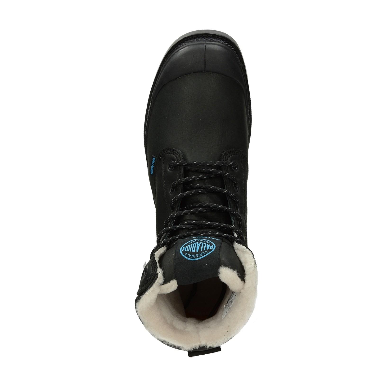 Palladium pánská stylová kotníková obuv - černá