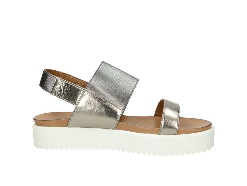 96c95ff9350 ... Inuovo dámské pohodlné sandály na platformě - zlaté ...