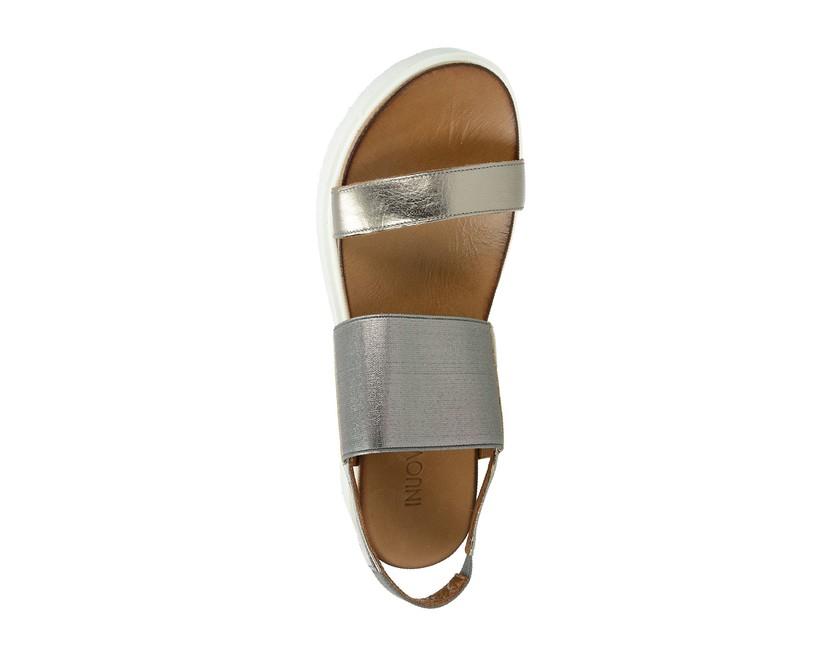 a3cd5792512 Inuovo dámské pohodlné sandály na platformě - zlaté ...