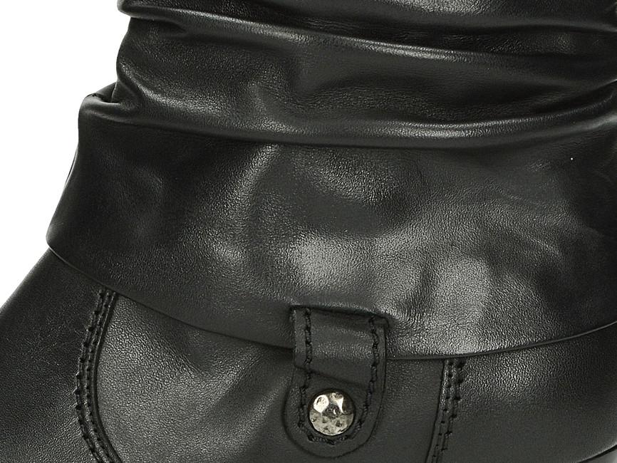 a19ccc9fa14e ... Gabor dámské kotníkové boty na podpatku - černé ...