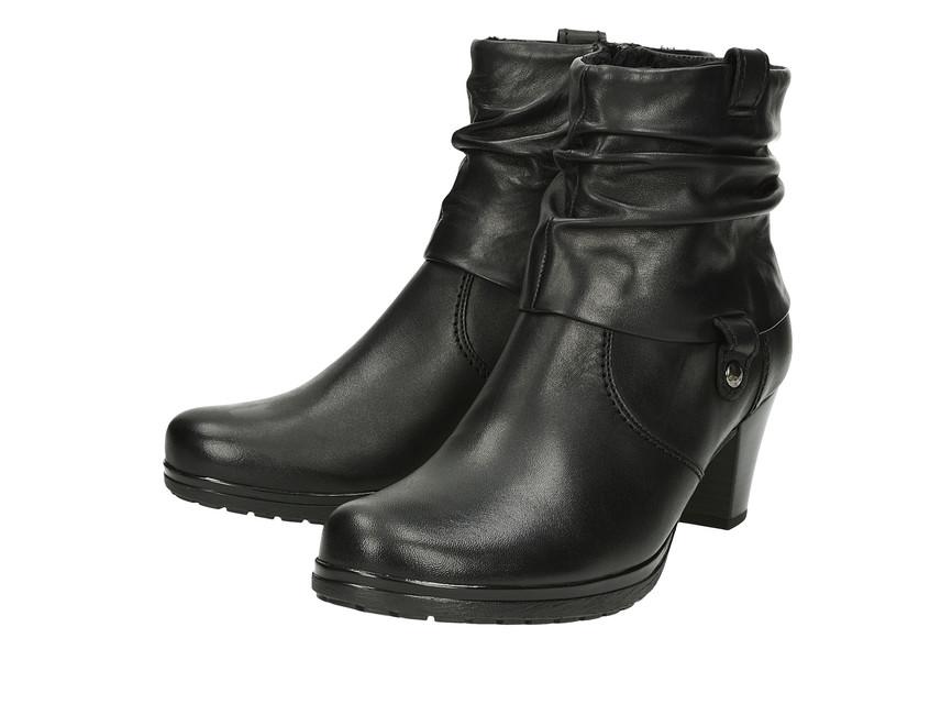 7b35ce163f25 Gabor dámské kotníkové boty na podpatku - černé ...