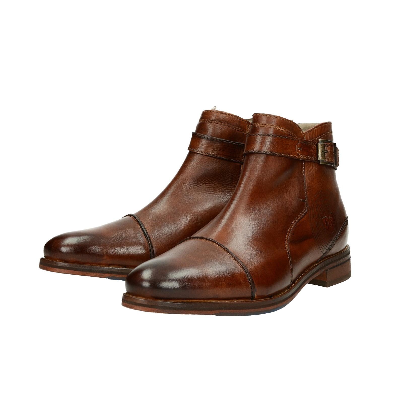 ... Daniel Hechter pánská zateplená kotníková obuv - hnedá ... 901a13977b4