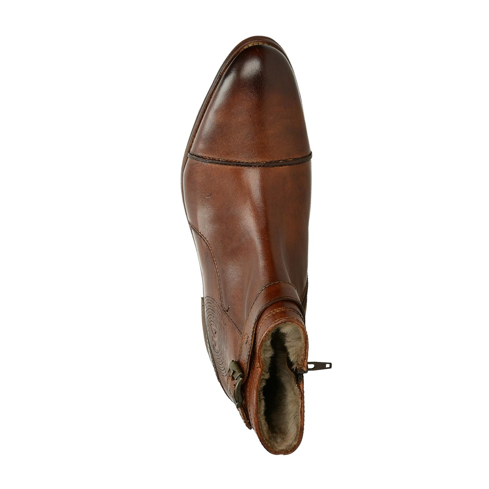 Daniel Hechter pánská zateplená kotníková obuv - hnedá ... ce0b6f77183