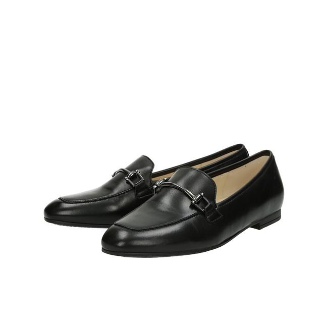 5fff42fcb Gabor dámské kožené mokasíny - černé | 84.260.27-BLK cz.robel.shoes