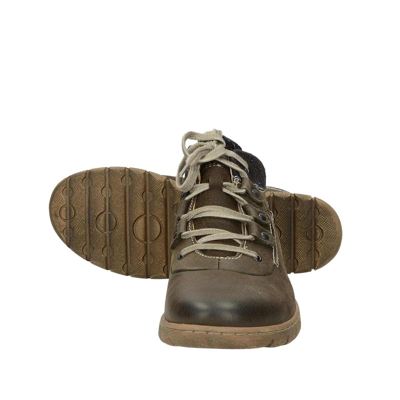 54a276fa26 ... Josef Seibel dámské kožené kotníkové boty - hnědé ...