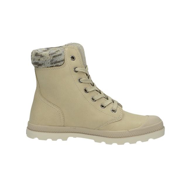 Palladium dámské kotníkové boty - béžové ... 70e41fe0cc