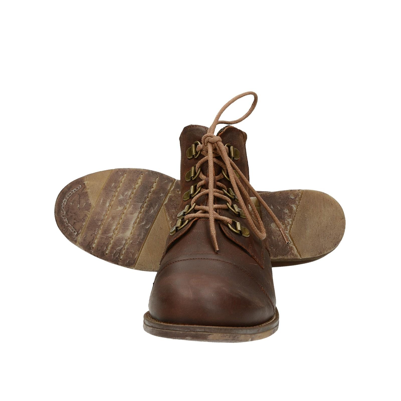 Kotníková obuv. Josef Seibel dámské nubukové kotníkové boty - hnědé ... 498fad0893