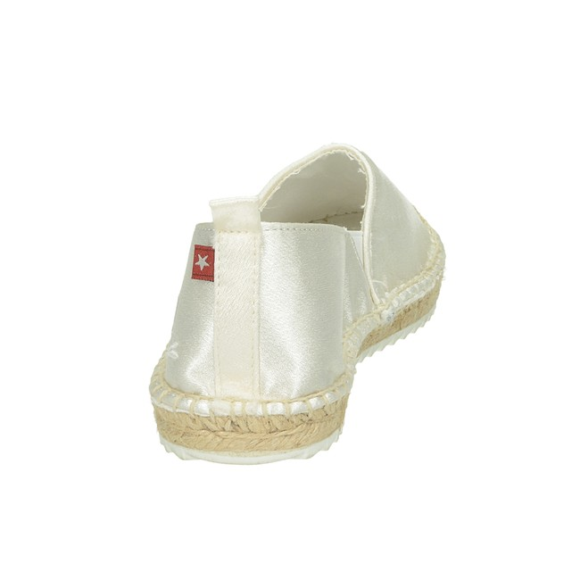 Big Star dámské pohodlné stylové espadrilky - bílé