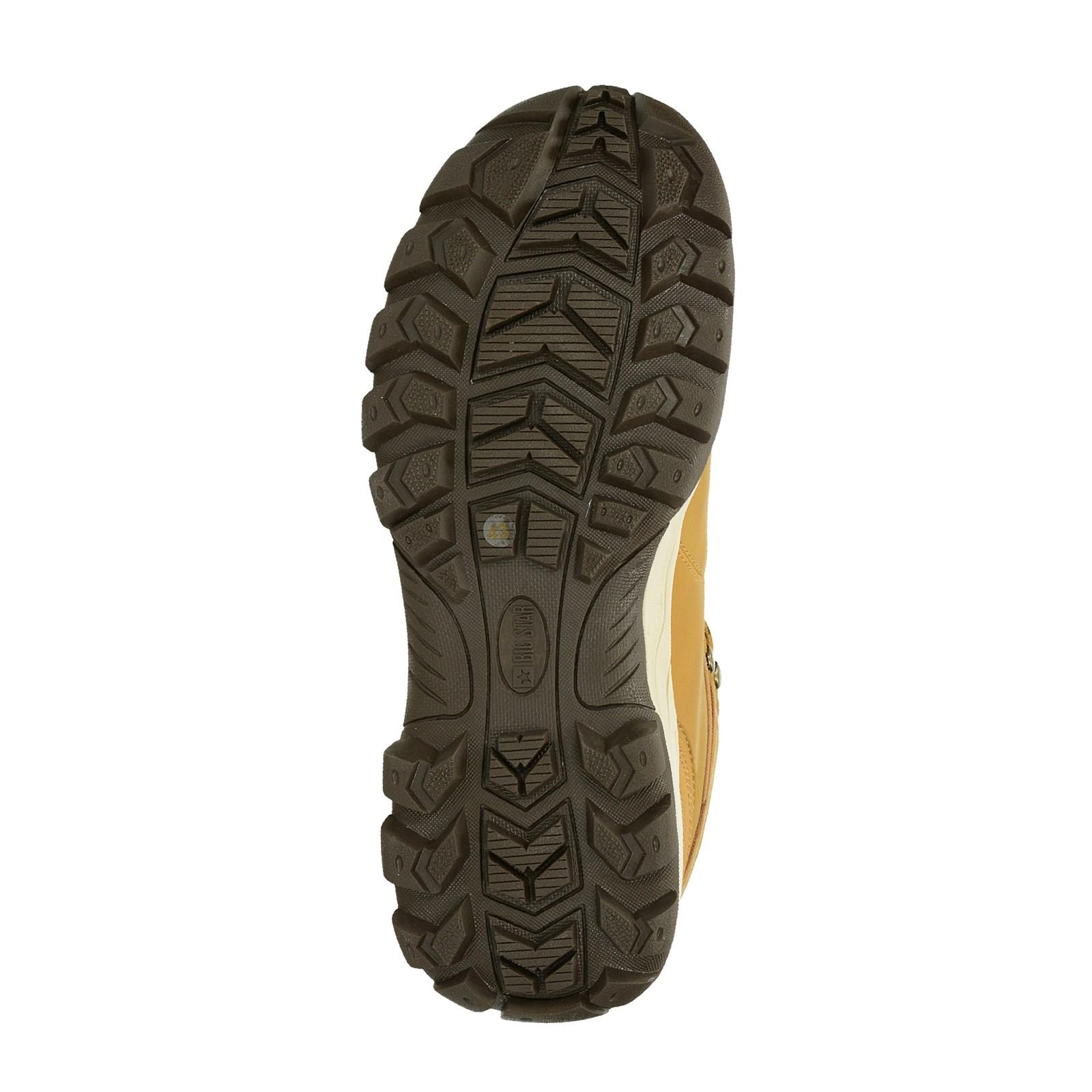 016eb3c81dc ... Big Star pánská zateplená kotníková obuv - béžová ...