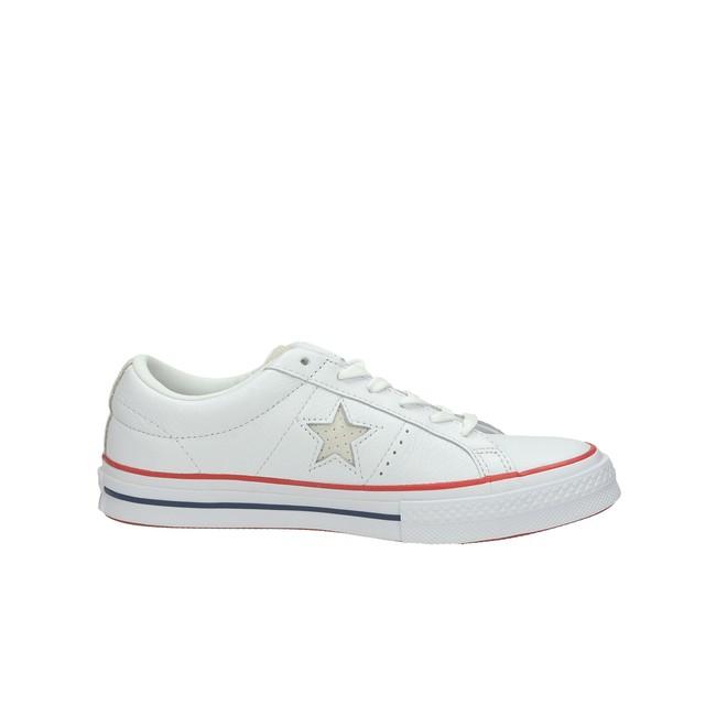 9af32bfb777 Converse dámské kožené tenisky - bílé ...