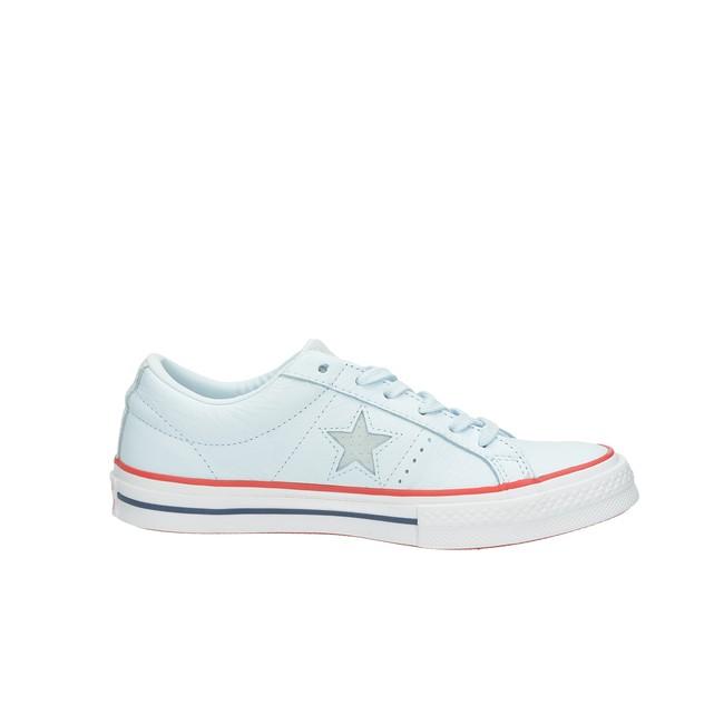 47bf2690318 Converse dámské kožené tenisky - modré ...