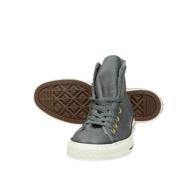Converse dámské zateplené kotníkové boty - šedé ... f280f1bbda