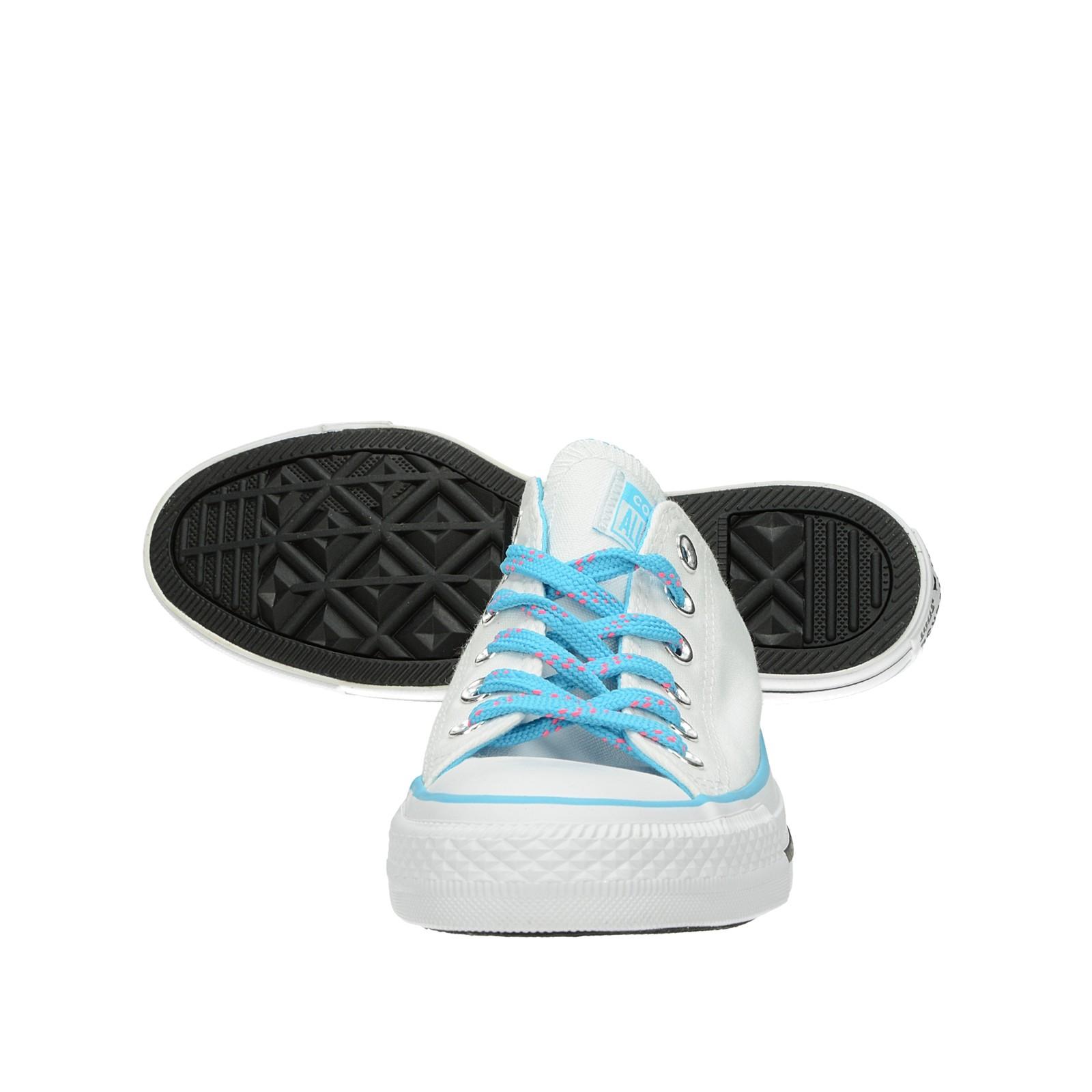 Converse dámské stylové plátěné tenisky - bílé