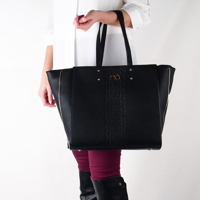 ... Nóbo dámská velká kabelka - černá ... 7297b9d8e79
