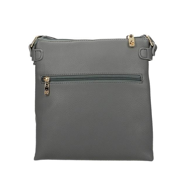 Nóbo dámská crossbody stylová kabelka - šedá