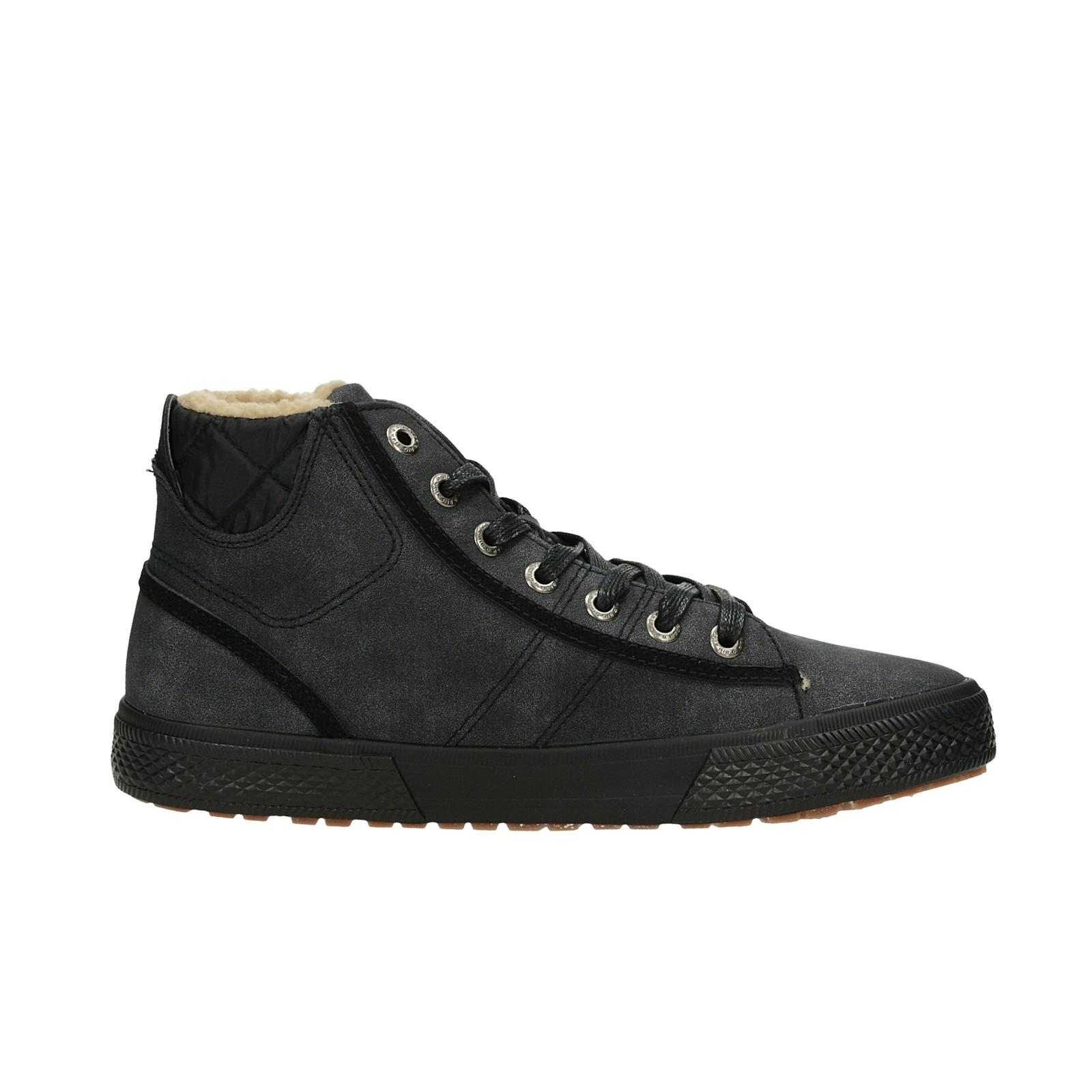 Big Star pánská stylová zateplená kotníková obuv - šedá