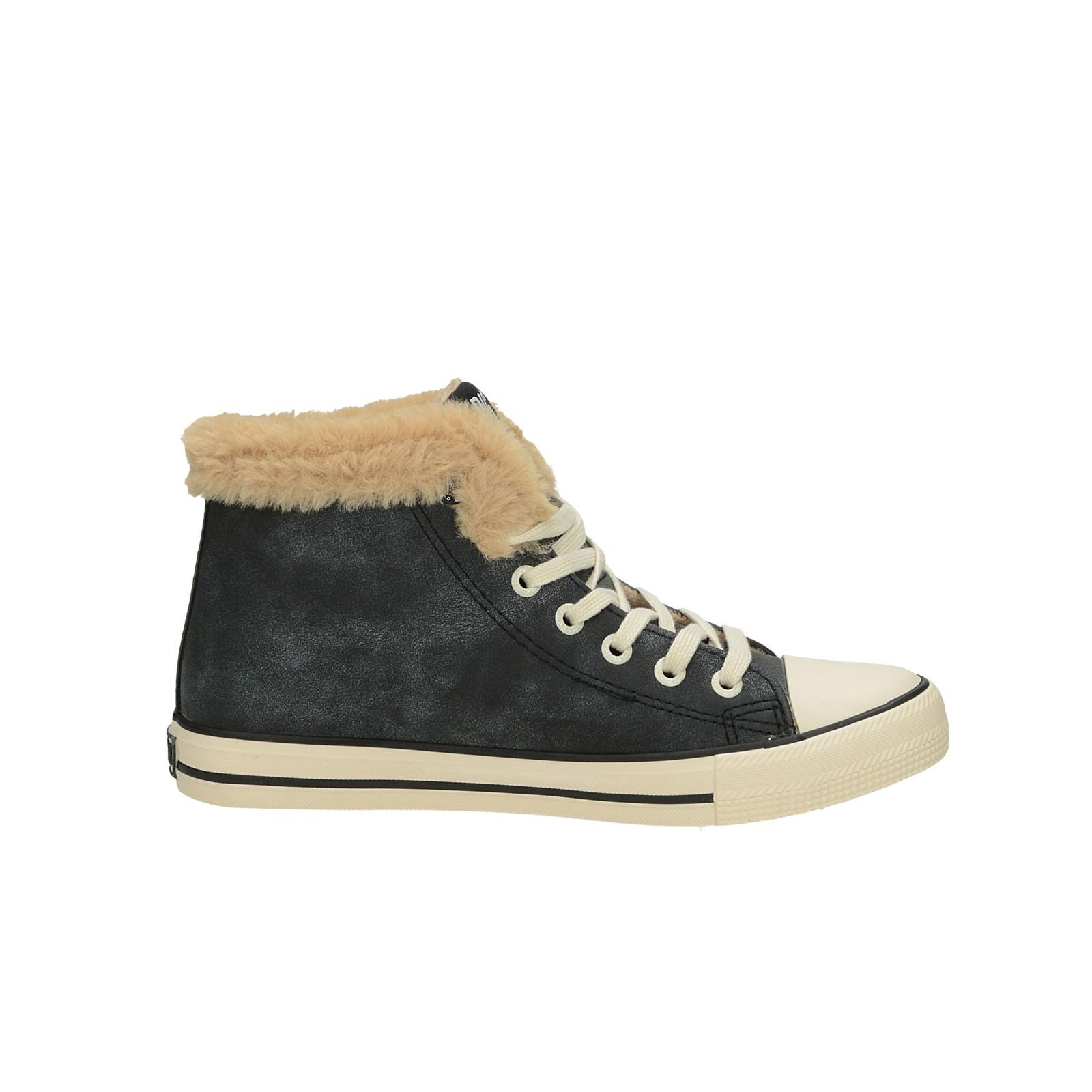 Big Star dámské stylové kotníkové boty - černé