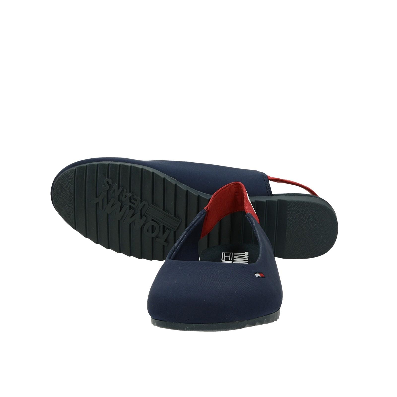 Tommy Hilfiger dámské pohodlné sandály - tmavomodré