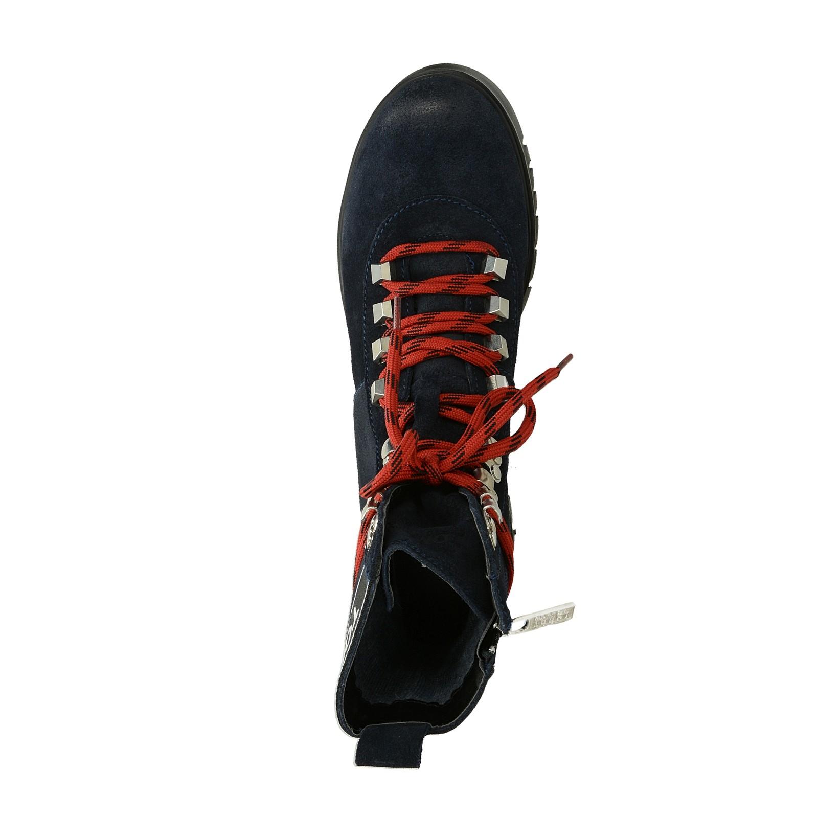 794b1057eb5 ... Tommy Hilfiger dámské vysoké kotníkové boty - modré ...