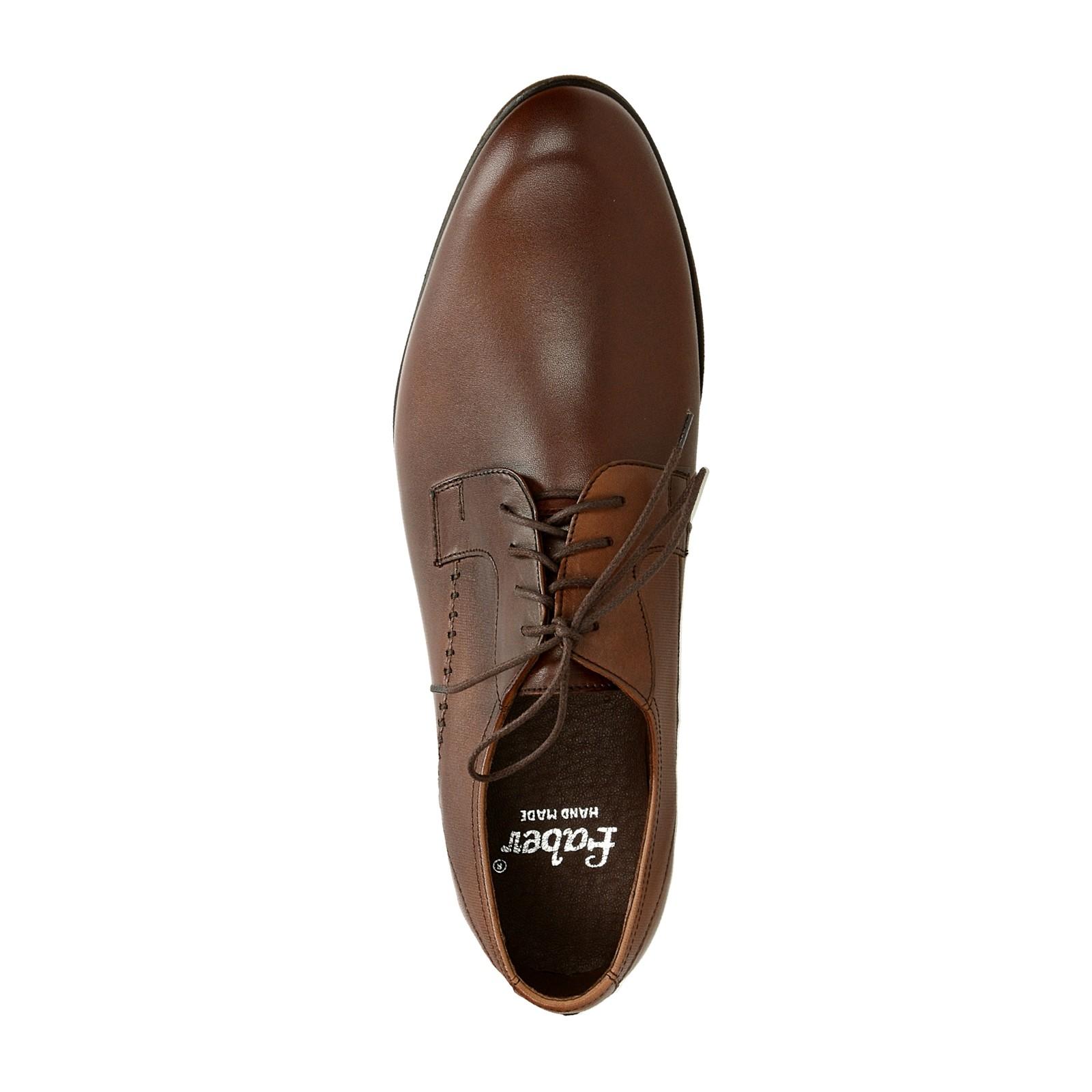 1e845d38cc5 Faber pánské kožené společenské boty - hnědé ...