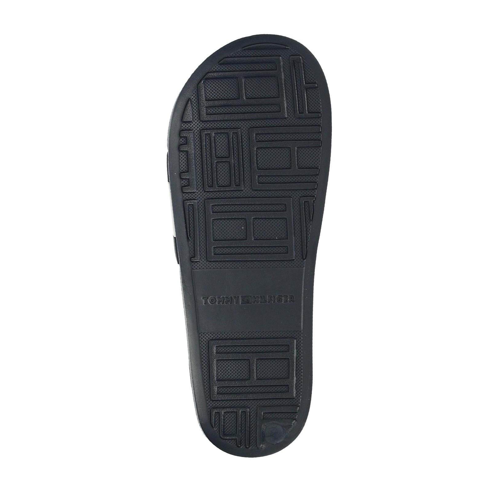 Tommy Hilfiger dámské stylové nazouváky - tmavomodré