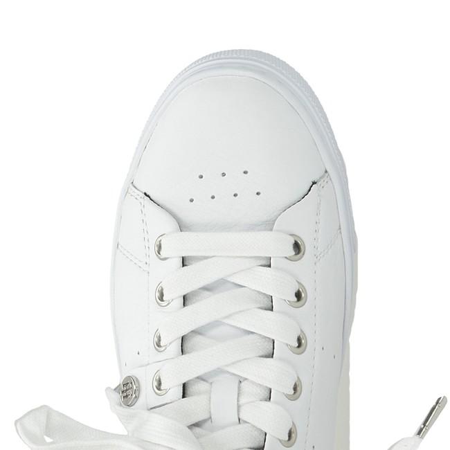8a536cba25d9 Tommy Hilfiger dámské pohodlné tenisky - bílé ...