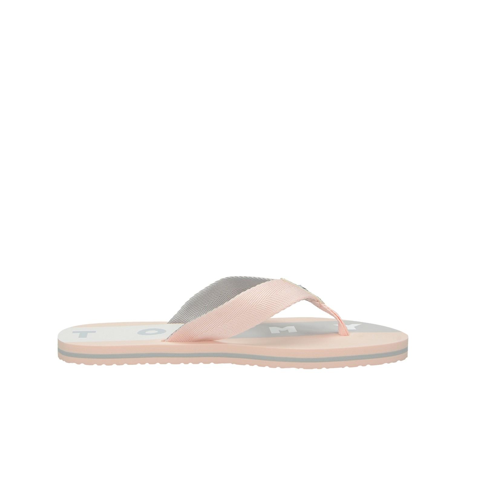 Tommy Hilfiger dámské stylové plážovky - růžové