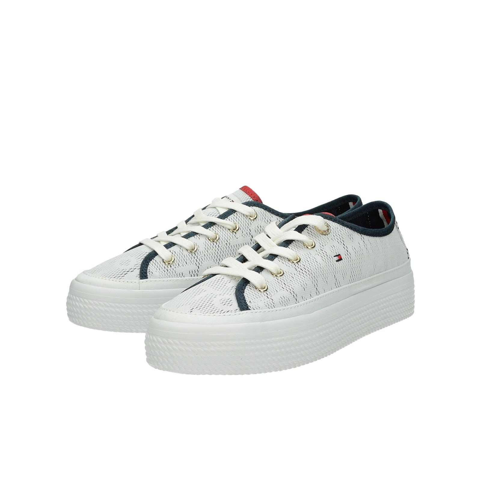 e8c96bb5b9 Tommy Hilfiger dámské textilní tenisky - bílé ...