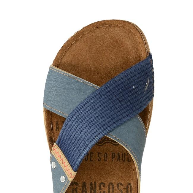 Inblu pánské pohodlné nazouváky - modré