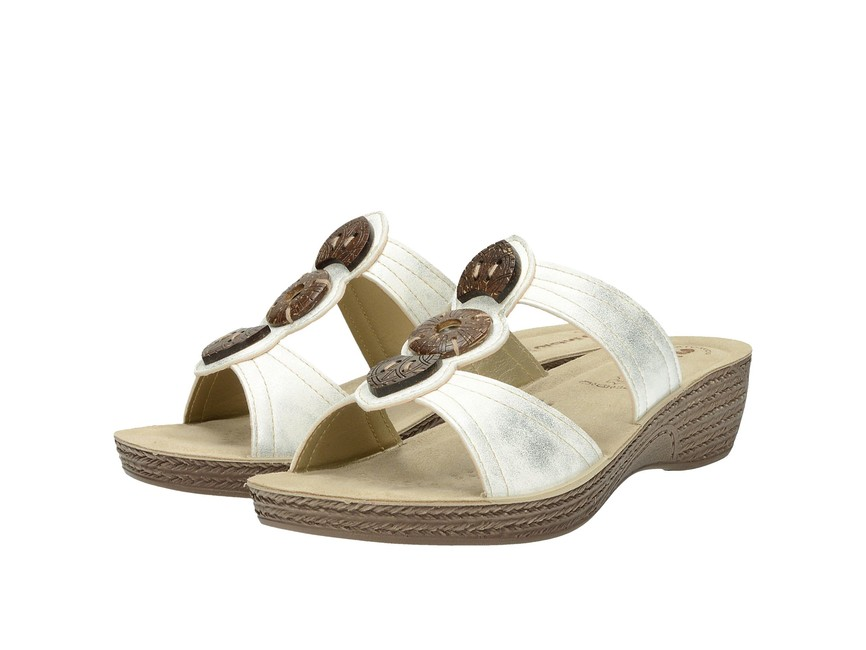 2c93e4ec9 Inblu dámské pohodlné nazouváky - bíle | GL8-BIANCO cz.robel.shoes