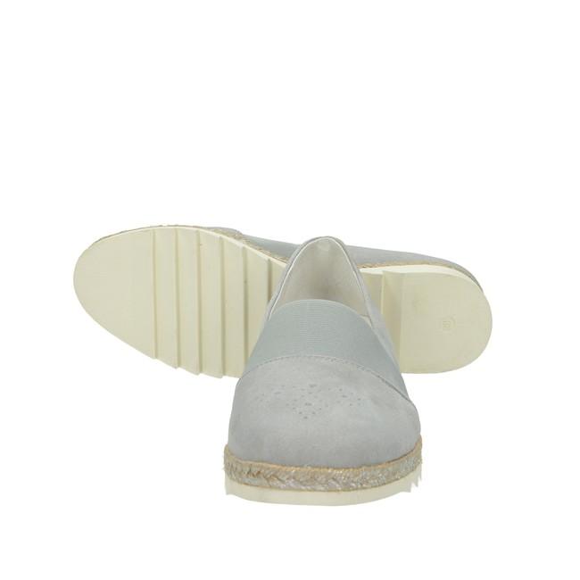 Regarde le ciel dámské semišové balerínky - šedé