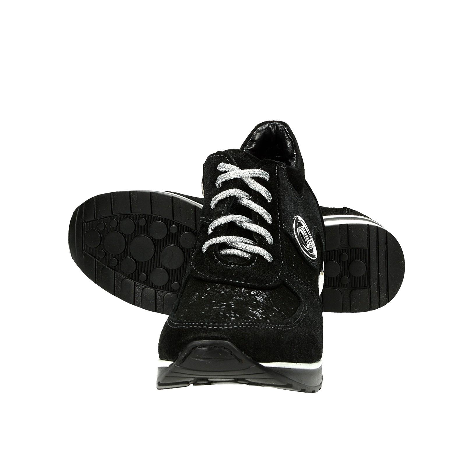 5a98d07ccfc Olivia Shoes dámské stylové kožené kotníkové boty - černé ...