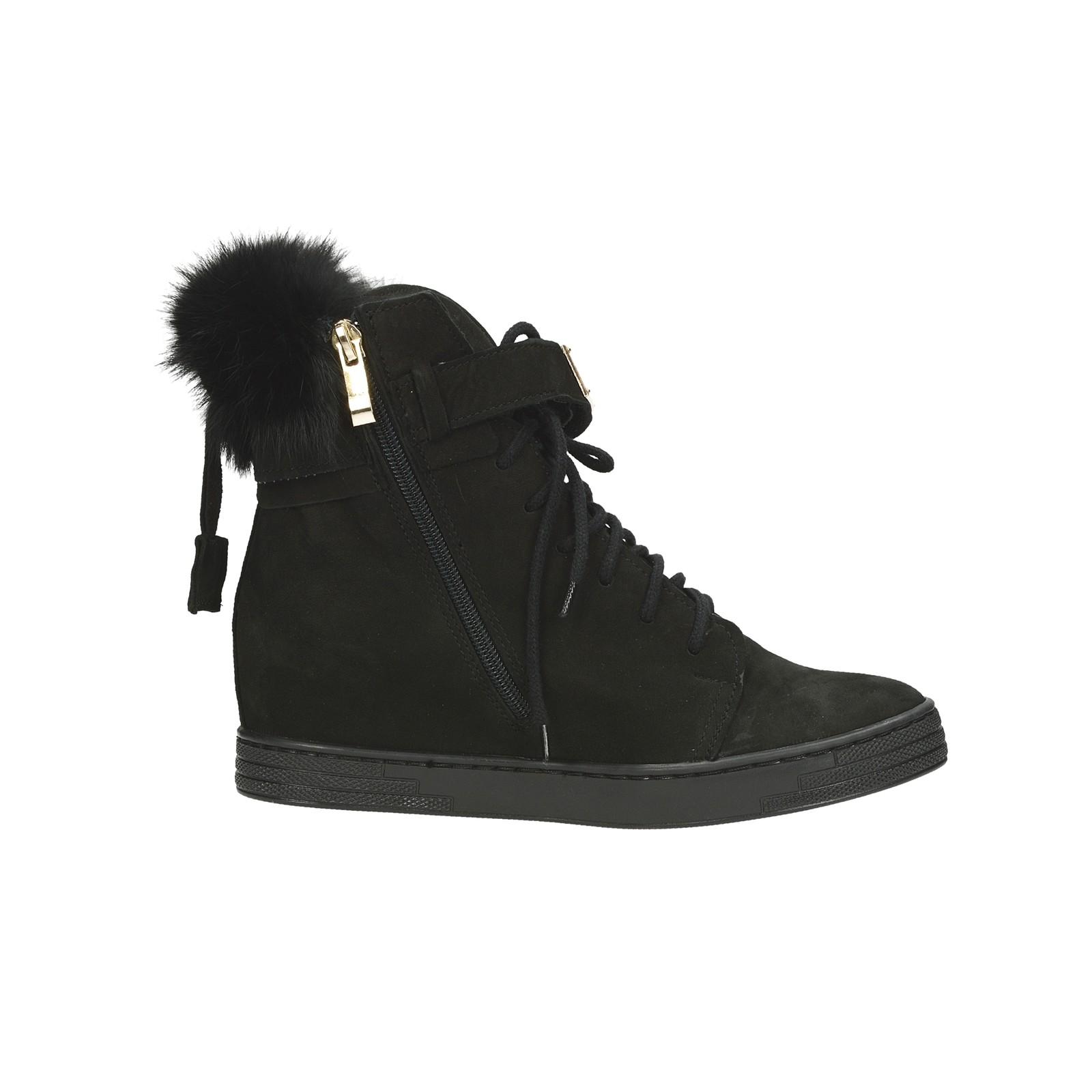 ba5813bd170 Olivia shoes dámské stylové kotníkové boty na suchý zip - černé ...