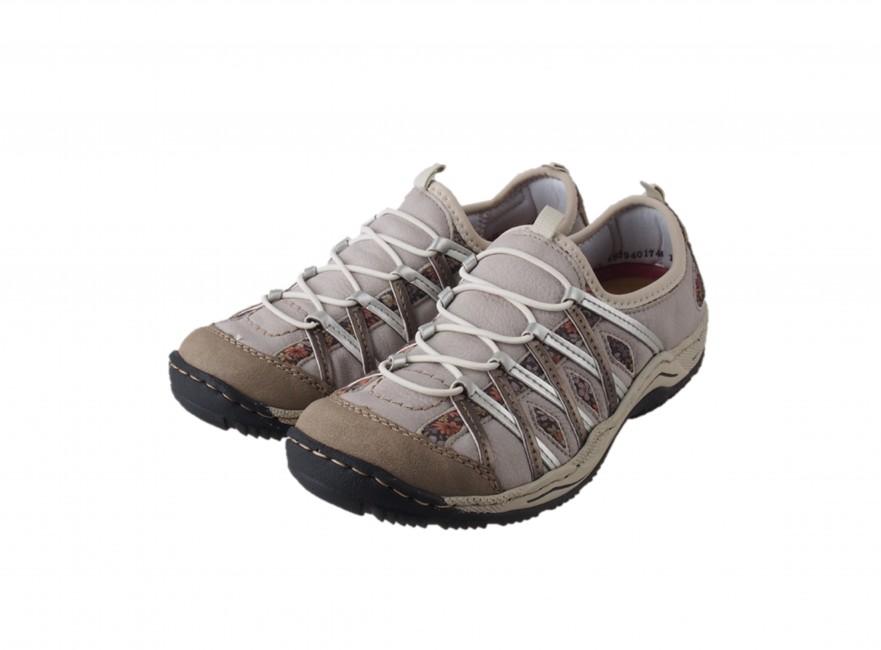 ... Rieker dámská trekingová obuv - béžová ... b77efa33f2b
