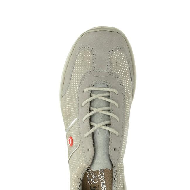 3c949dda732b7 Rieker dámské semišové tenisky - šedé | L322040-VAPOR cz.robel.shoes