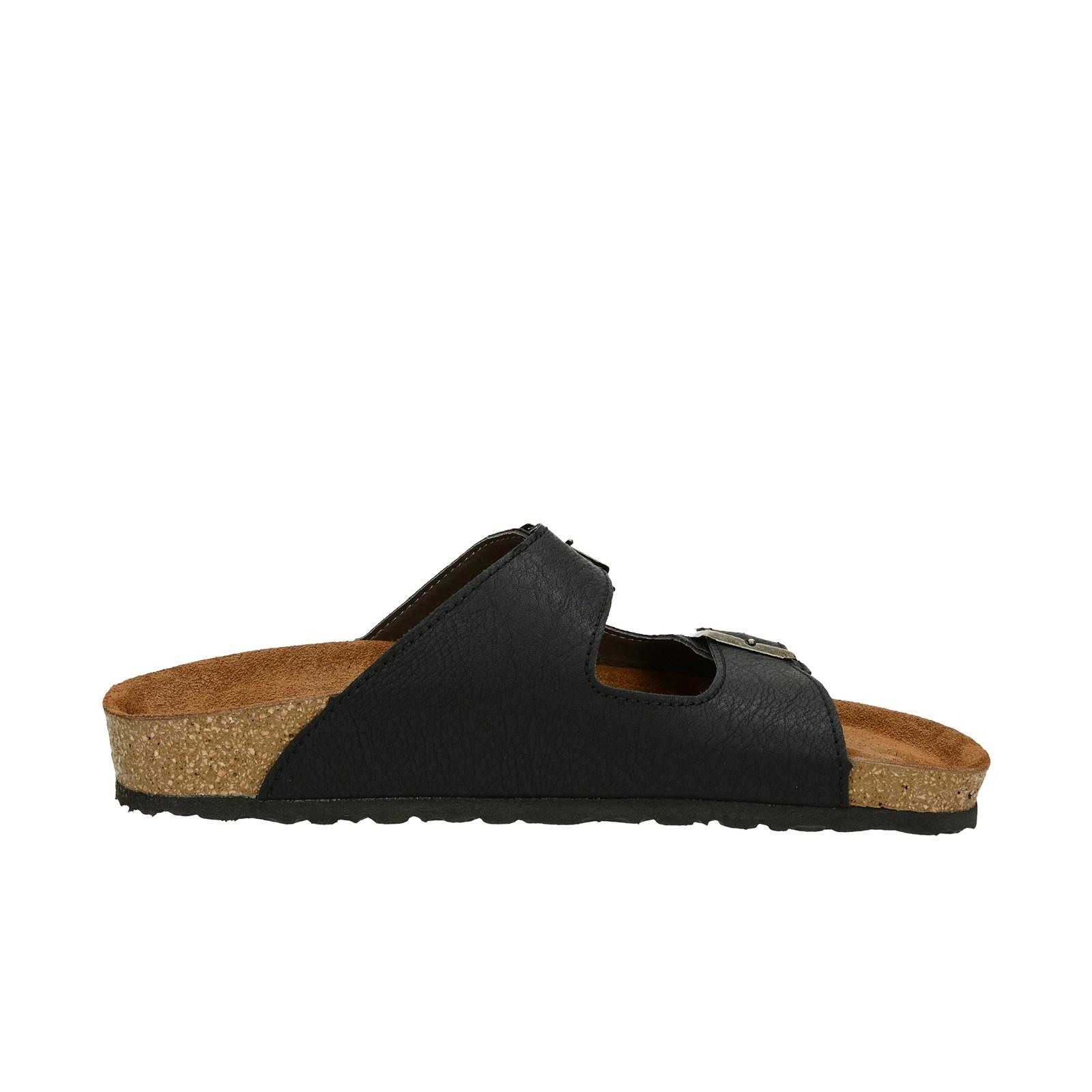 Inblu pánské pohodlné nazouváky - černé