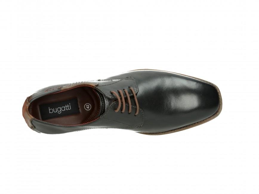 d81ce239b08 Bugatti pánské společenské boty - černé ...