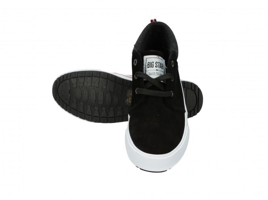 Big Star pánské kotníkové boty - černé