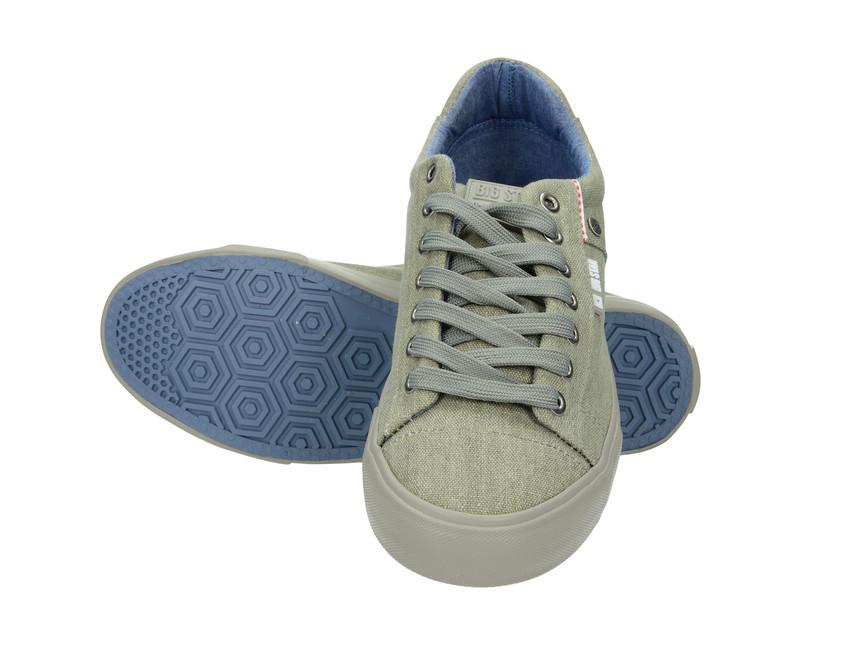 Big Star pánské plátěné tenisky - šedé