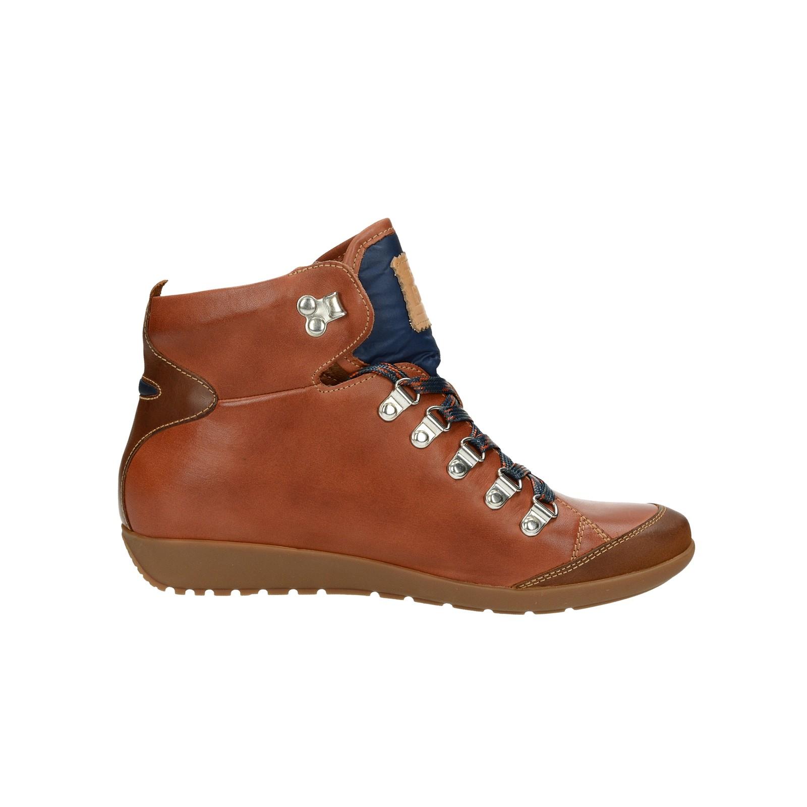 Pikolinos dámské kožené kotníkové boty - koňakové ... 3ae737afa1