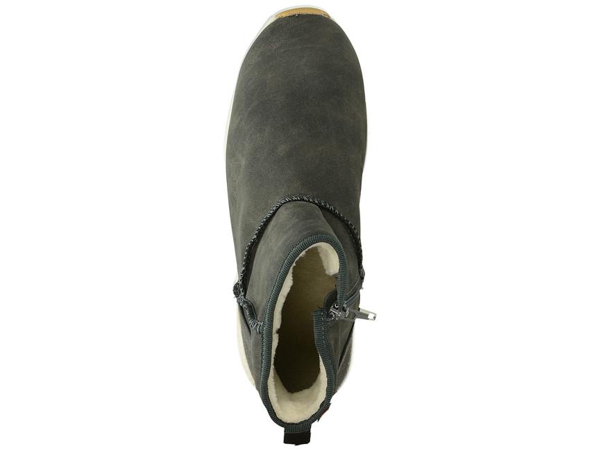 Big Star dámské pohodlné kotníkové boty - šedé