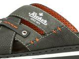 Rieker pánské pantofle/nazouváky - šedé