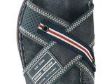 Rieker pánské pantofle/nazouváky - modré
